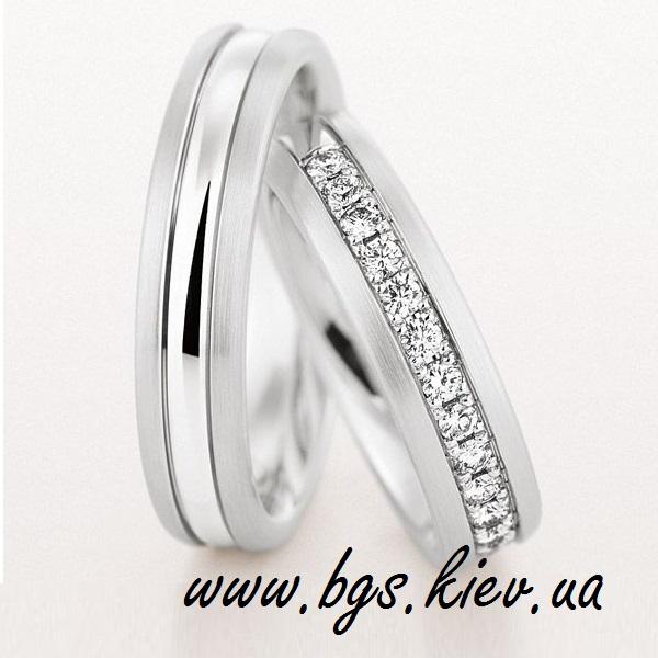 Красивые свадебные кольца «Christian»