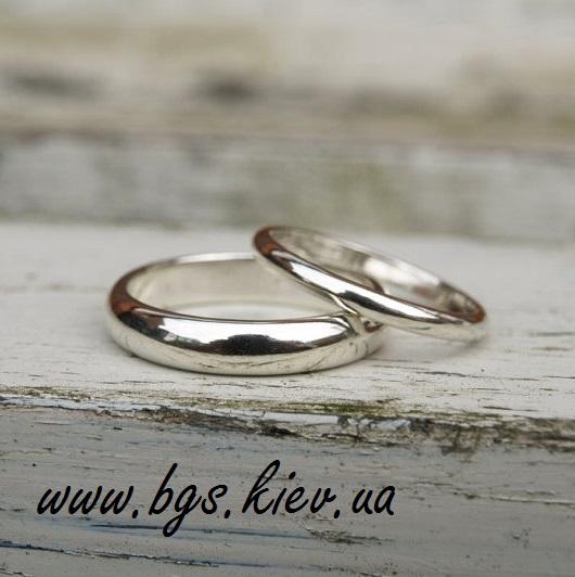 Стандартные обручальные кольца «Классический стиль»