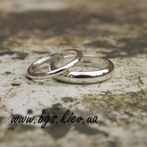 Стандартные обручальные кольца