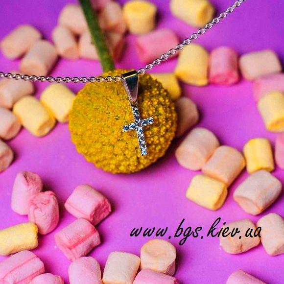 Золотая крестик