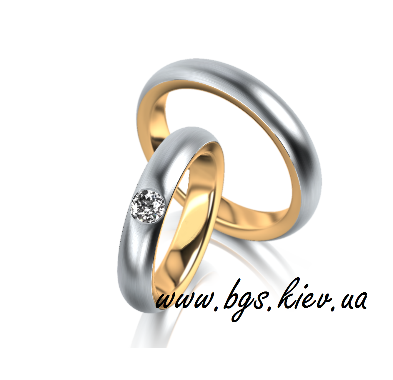 Золотые кольца «Алмаз»