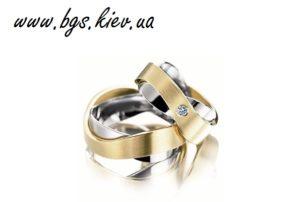 Золотые венчальные кольца «Атлантида»