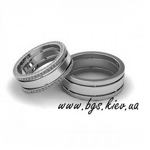 Обручальные кольца бриллиантами под заказ, заказать обручальные кольца в Киеве, из золота, по эскизу изготовление обручальных колец на заказ, каталог, цена
