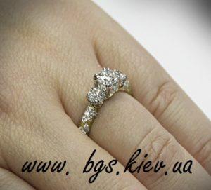 Помолвочные кольца с бриллиантом «Великолепие бриллианта»
