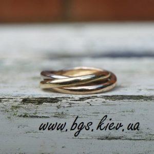 кольцо картье, кольцо cartier, кольцо картье тринити