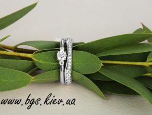 обручальное и помолвочное кольцо на заказ