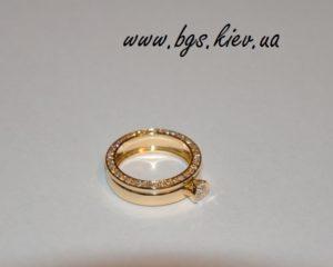 Обручальные кольца из лимонного золота