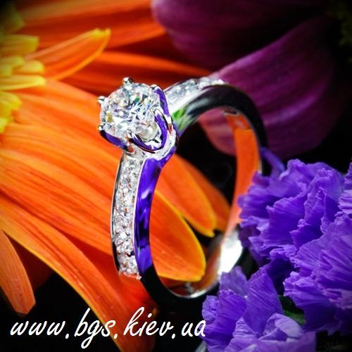 Помолвочные кольца Киев «Невеста», помолвочные кольца в каталоге
