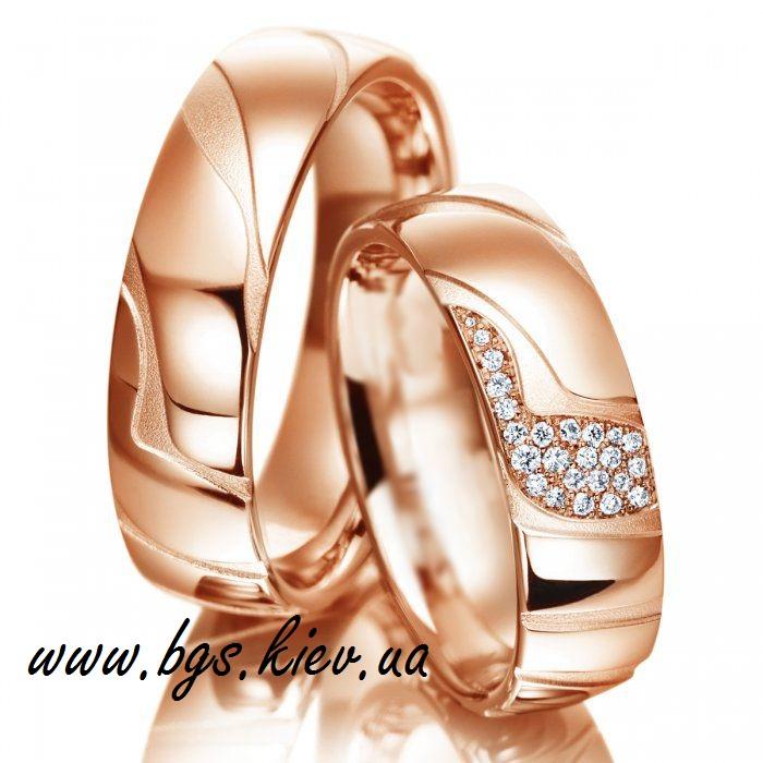 Обручальные кольца с фактурой «Галактика»