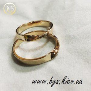 обручальные кольца петля мёбиуса