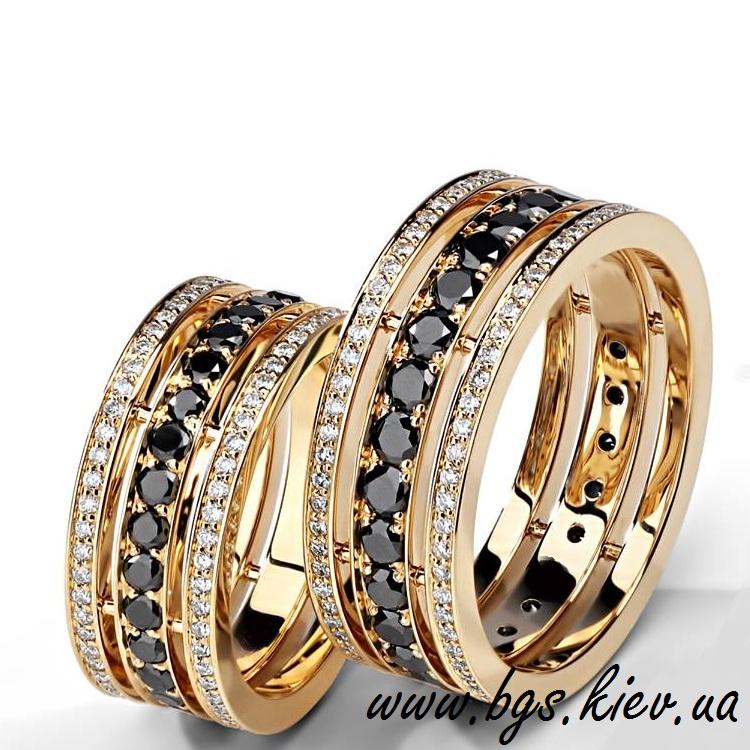 d11b11682c7 Обручальные кольца парные Bulgari из желтого золота - Best Gold Service