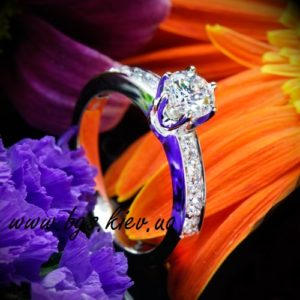помолвочное кольцо тиффани