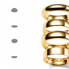 Профиль обручального кольца