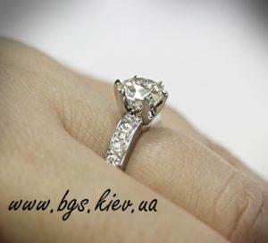 Помолвочное кольцо Tиффани Tиффани кольца, золотое кольцо Tiffany, заказать золотое кольцо тиффани в киеве, золотое кольцо тиффани на пальце