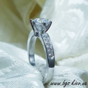Помолвочное кольцо Tиффани