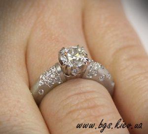 кольцо для предложения, Золотое кольцо на руке, Золотое помолвочное кольцо на руке